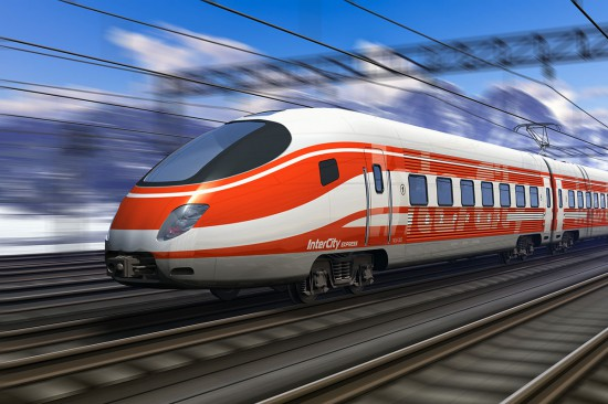 Anreise zum Ferienhaus Nagelschmied - Bahn